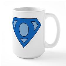 Super Blue O Mug
