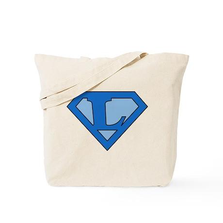 Super Blue L Tote Bag