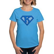 Super Blue K Tee