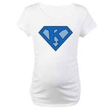 Super Blue K Shirt