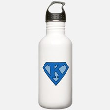 Super Blue K Water Bottle