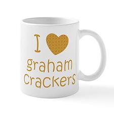 I love graham crackers Small Mug