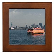 Staten Island Ferry Framed Tile