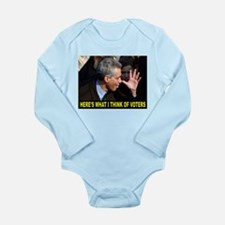 RAHMIE THE COMMIE Long Sleeve Infant Bodysuit