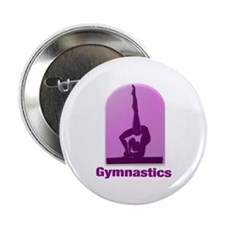 "I Love Gymnastics #11 2.25"" Button"