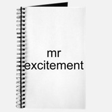 Mr. Excitement Journal