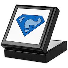 Super Blue G Keepsake Box