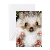 Hedgehogs Greeting Cards