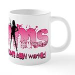 PMS You've Been Warned 20 oz Ceramic Mega Mug