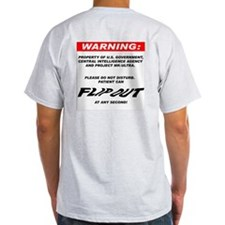 Property of MK-Ultra Ash Grey T-Shirt
