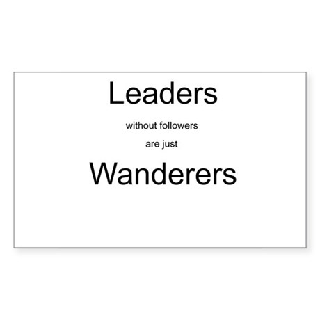 Leaders - Wanderers Rectangle Sticker