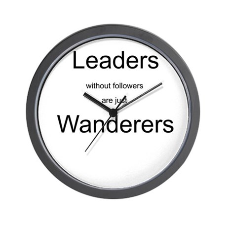 Leaders - Wanderers Wall Clock