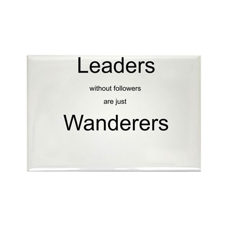 Leaders - Wanderers Rectangle Magnet