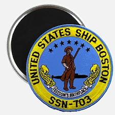 USS BOSTON Magnet