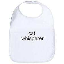 cat whisperer Bib