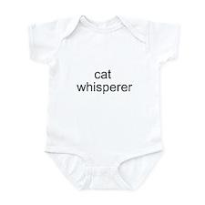 cat whisperer Infant Creeper