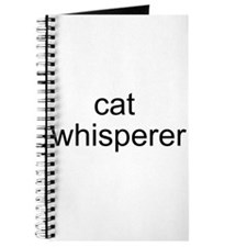 cat whisperer Journal