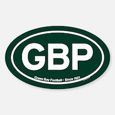 GBP Oval Sticker - Green