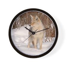 Winters Dog Wall Clock