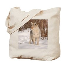 Winters Dog Tote Bag