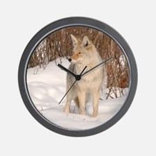 Winters Dog Wall Clock