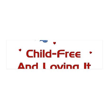 Child-Free Loving It 42x14 Wall Peel