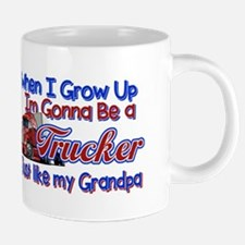 When I Grow Up... Grandpa 20 oz Ceramic Mega Mug