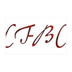 CFBC Red Logo 38.5 x 24.5 Wall Peel