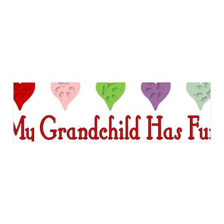 Furry Grandchild 42x14 Wall Peel