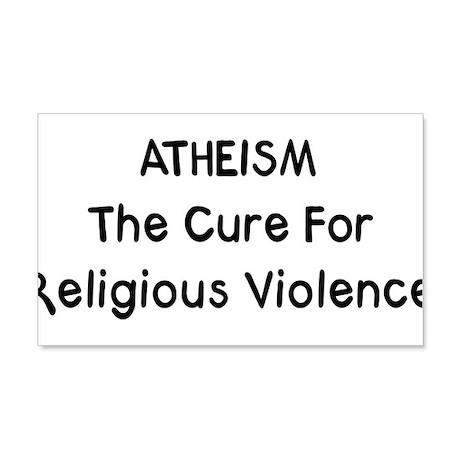 Atheism 22x14 Wall Peel