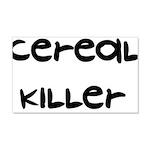 Cereal Killer 22x14 Wall Peel