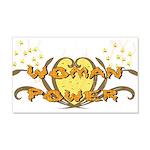 Woman Power 22x14 Wall Peel
