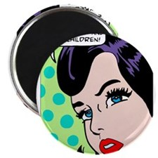 I can't believe, pop art girl Magnet