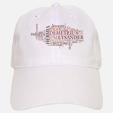 Midsummer Night's Wordle Baseball Baseball Cap