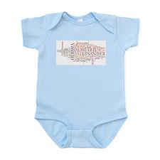 Midsummer Night's Wordle Infant Bodysuit