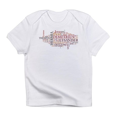 Midsummer Night's Wordle Infant T-Shirt