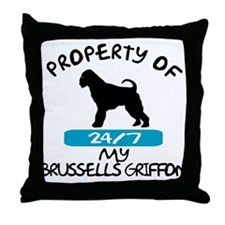 Brussells Griffon Throw Pillow
