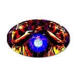 Witchy Women 38.5 x 24.5 Oval Wall Peel