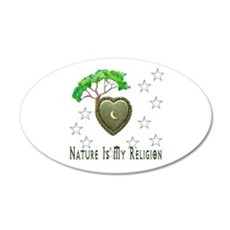 Nature Is My Religion Wall Decal