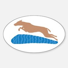 Dock Jumping Dog Decal