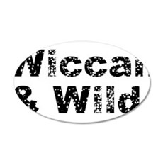 Wiccan and Wild 22x14 Oval Wall Peel
