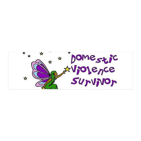 Domestic Violence Survivor 21x7 Wall Peel