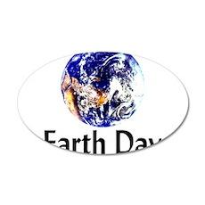 Planet Earth 22x14 Oval Wall Peel