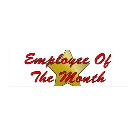 Employee Of The Month 42x14 Wall Peel