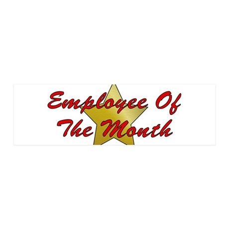 Employee Of The Month 21x7 Wall Peel