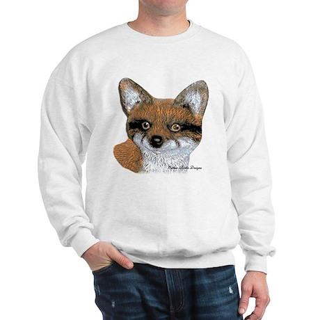Fox Portrait Design Sweatshirt