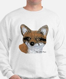 Fox Portrait Design Sweatshirt