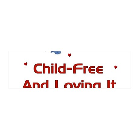 Child Free 42x14 Wall Peel