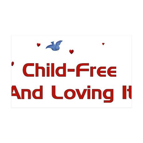 Child Free 38.5 x 24.5 Wall Peel