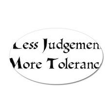 Tolerance 22x14 Oval Wall Peel